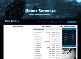 Anons-server.ru thumbnail
