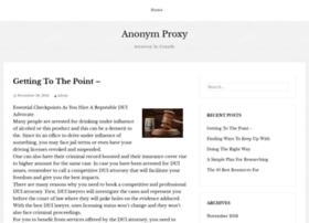 Anonymproxy.net thumbnail