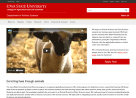 Animal Science university guide
