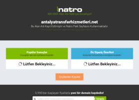 Antalyatransferhizmetleri.net thumbnail