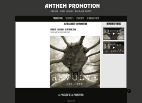 Anthempromotion.fr thumbnail