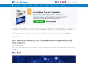Anti-virus-software-review.toptenreviews.com thumbnail