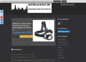 Antiblackout.be thumbnail