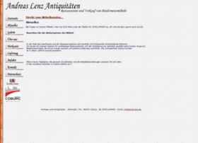 Antik-lenz.de thumbnail