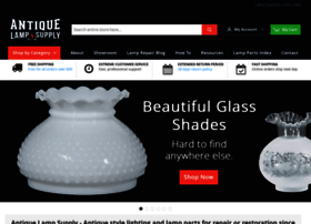 Antiquelampsupply.com thumbnail