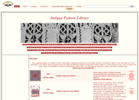 Antiquepatternlibrary.org thumbnail