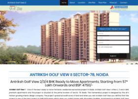 Antrikshgolfview.net.in thumbnail