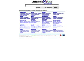 Anuncioneon.com thumbnail
