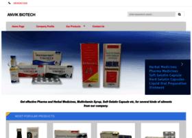 Anvikbiotech.net thumbnail
