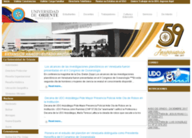Anz.udo.edu.ve thumbnail