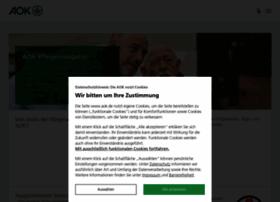 Aok-pflegeheimnavigator.de thumbnail