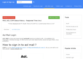 Aol-mail.loginnsignup.com thumbnail