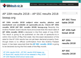 Ap.10thresults-nic.in thumbnail