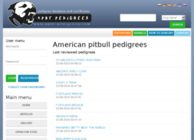 Apbt-pedigrees.com thumbnail