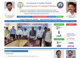 Apcce.gov.in thumbnail