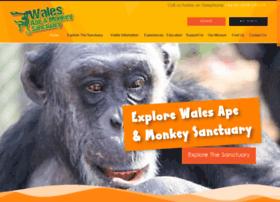 Ape-monkey-rescue.org.uk thumbnail