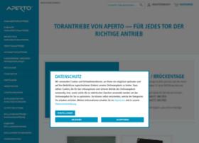 Aperto-torantriebe.de thumbnail