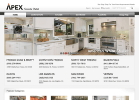 Apexgraniteoutlet Com At Wi Apex Granite Outlet Kitchen Cabinets Quartz Granite Countertops