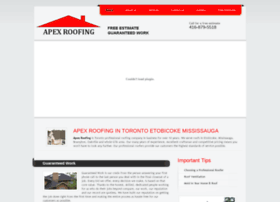 Apexroofing.ca thumbnail
