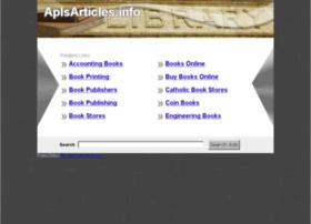 Aplsarticles.info thumbnail