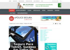 Apolicesegura.com.br thumbnail