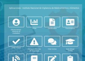 App.invima.gov.co thumbnail