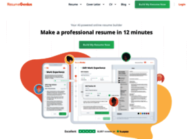 app resumegenius com at wi free resume builder resume builder