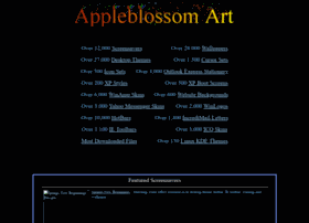 Appleblossomart.net thumbnail