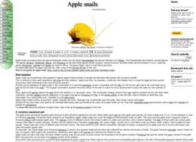 Applesnail.net thumbnail