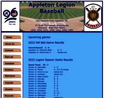 Appletonlegionbaseball.org thumbnail