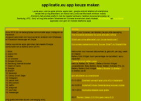 Applicatie.eu thumbnail
