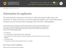 Apply.bham.ac.uk thumbnail