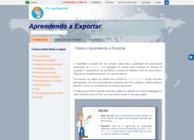 Aprendendoaexportar.gov.br thumbnail