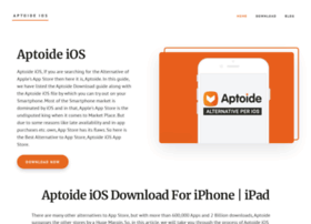 aptoideios org at WI  Aptoide iOS For iPhone, iPad Download Updated