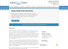 Aquakingpoolservices.com thumbnail
