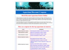 Aquariumcoupons.com thumbnail