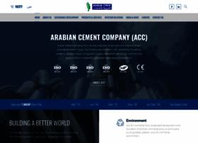 Arabiancementcompany.com thumbnail