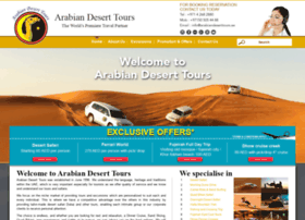 Arabiandeserttours.ae thumbnail