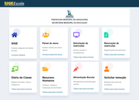 Araguatins.sigeescola.com.br thumbnail