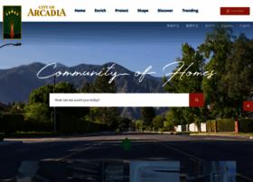 Arcadiaca.gov thumbnail