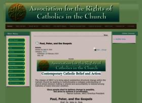 Arcc-catholic-rights.net thumbnail