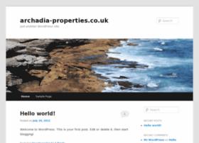 Archadia-properties.co.uk thumbnail