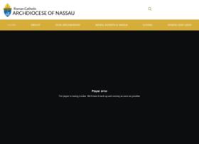 Archdioceseofnassau.org thumbnail