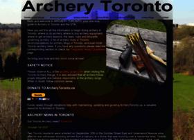 Archerytoronto.ca thumbnail