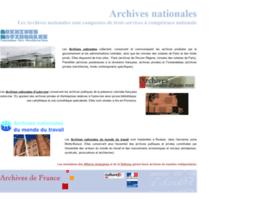 Archivesnationales.culture.gouv.fr thumbnail