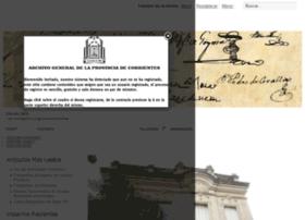 Archivocorrientes.org thumbnail