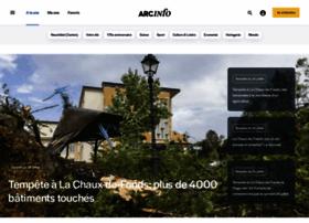 Arcinfo.ch thumbnail