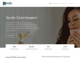 Arcticgovernance.org thumbnail