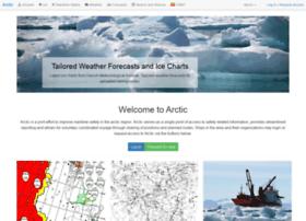 Arcticweb.e-navigation.net thumbnail