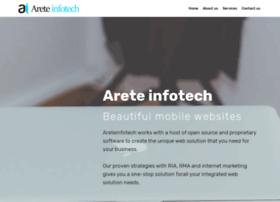 Areteinfotech.com thumbnail
